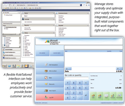 Dynamics AX for retail